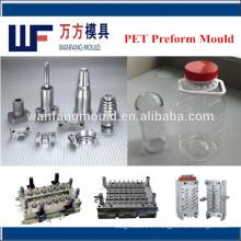 moule en plastique de préforme de pot / fabricant de moules de préforme de haute qualité pour le pot en plastique