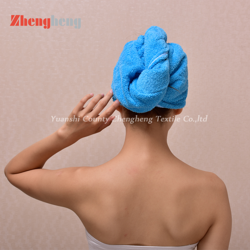 Coral Fleece Hair Cap (28)