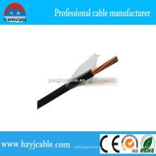Высокотемпературный устойчивый ПВХ изоляции нейлоновый Jacket кабель