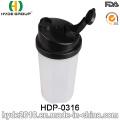 Neu Tragbare Kunststoff PP Protein-Shaker-Flasche, BPA-frei angepasst Kunststoff-Shaker-Flasche (HDP-0316)