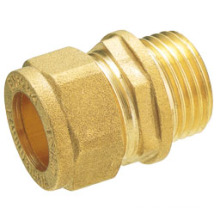 T1102 brass compression fitting brass fitting/ brass connector