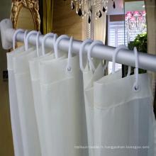 Rideau de douche de haute qualité pour la salle de bains de l'hôtel 5 étoiles (DPF2463)