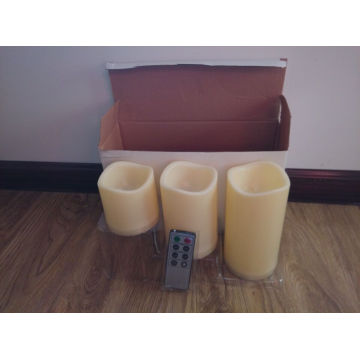 Flameless Lilin Berkedip LED Lilin Set