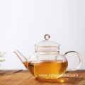 Premium Glass Teapot with Removable Infuser & Lid