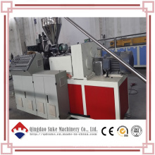 Plastic Conical Twin Screw Extruder Machine