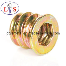 Hex Nut Furniture Nut Hexagonal Insert Nut