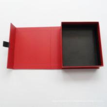 Impression faite sur commande de boîte d'emballage de papier de boîte de papier de cadeau