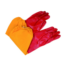 Interlock Liner Work Glove with PVC Single Dipped Smooth Finished