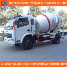 China Venda quente 4X2 4000L Self-Carregamento Betoneira para Venda