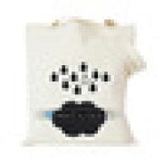 Wholesale Plain White Cotton Canvas Duffle Bags