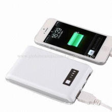 8,000mAh Mobile Power Bank with High-capacity and Electricity-saving