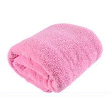 Jeté de couverture en polaire tricotée épaisse et portable