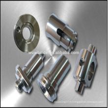 Pièces d'acier CNC tournantes personnalisées, pièces en acier inoxydable pour service OEM