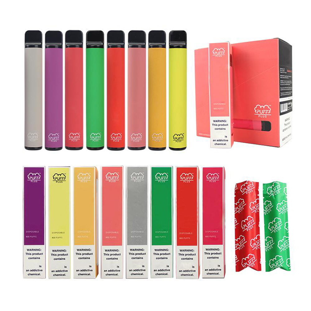 Puff Bar Plus Disposable Pod Device Flavors