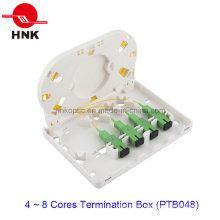 4 portas caixa de terminação de cabo de fibra óptica