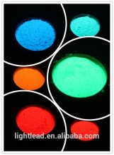 Glow fluorescent UV paint powder