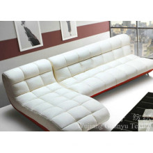 Polster Sofa verwendet 100% Polyester Suede Fabrics