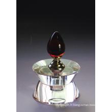 Bouteille de parfum en cristal de mode (JD-QSP-001)