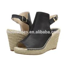 Günstige High Heel Sandalen Pumps Schuhe Großhandel Womens Espadrille Schuh