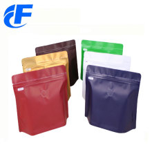 New design coffee stand up bag with zipper