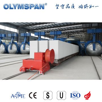 aerated autoclaved concrete block autoclave