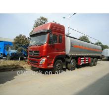 2015 venta caliente Dongfeng Tianlong 30M3 camión de combustible, 8x4 camiones dispensadores de combustible