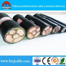 PVC / Swa / PVC Cable de alimentación blindado 0.6 / 1kv VV32 Cable