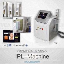 TUV и аттестованные iso13485 & CE медицинский IPL интенсивная пульсированная светлая для депиляции