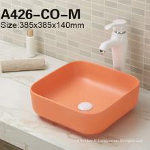 Lavabo de porcelaine de lavabo de vente chaude de vente