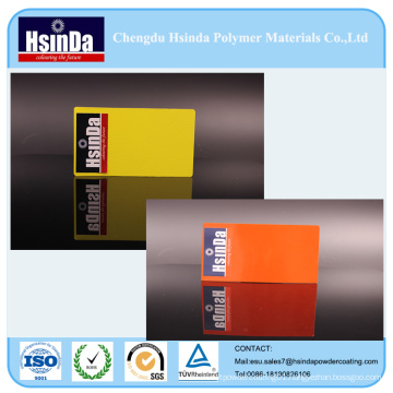 Epoxy Black Yellow Orange Wrinkle Rough Finish Effect Spray Powder Paint