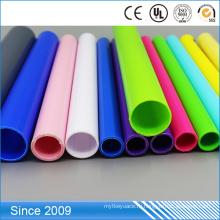 Полный размер твердого ПВХ Электрические трубы проводника красочные индивидуальные пластиковые трубы