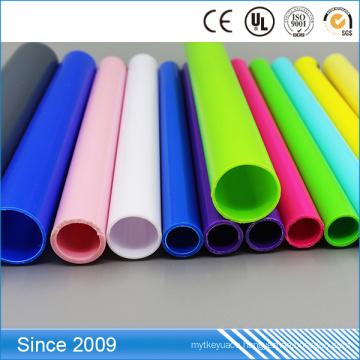 factory price fashional diverse color corrugated PE Poly Ethylene hard polyethylene pipe
