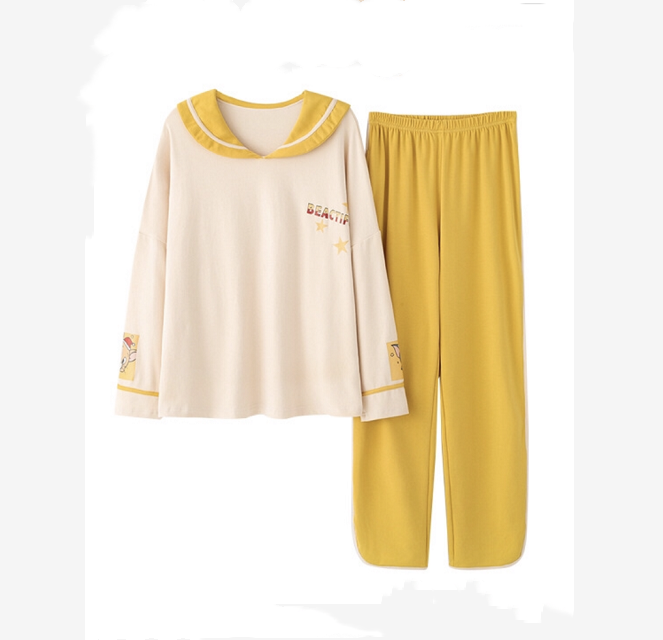 Womens Long-sleeved Pajamas