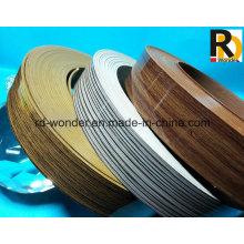 High Glossy Woodgrain Decorated PVC Edge Banding