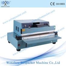 Máquina de selagem de saco plástico semi manual
