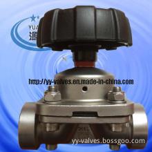 Vacuum Diaphragm Valve (Screw-socket)