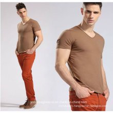 Men Classic V Neck Short Sleeves T Shirt