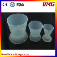 Rubbe Bowl No-Stick Mixing Cup Dental Lab Materials