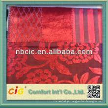 Corte a tela de veludo da pilha para a cortina da cadeira do sofá