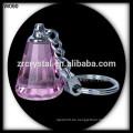 K9 Blank Crystal Schlüsselbund für 3D Lasergravur