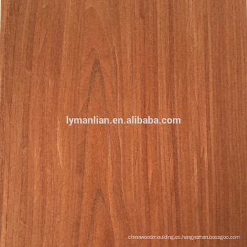 chapa de madera de roble blanco natural