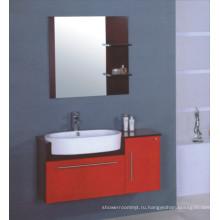 100см ПВХ шкаф ванной комнаты Тщета (Б-509)