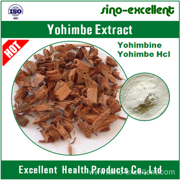 100% natural yohimbe extract