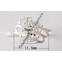 2015 Gets.com 925 prata esterlina anel de dedo grande