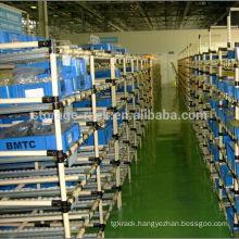 flexible pipe shelves/folding wire rod type shelf