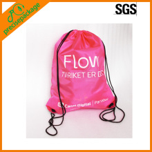 colorful drawstring shoe bag for women