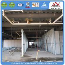 2016 nouveau produit structure en acier préfabriquée structure structure hôtelière