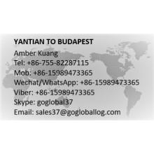 Shenzhen Yantian to Hungary Budapest