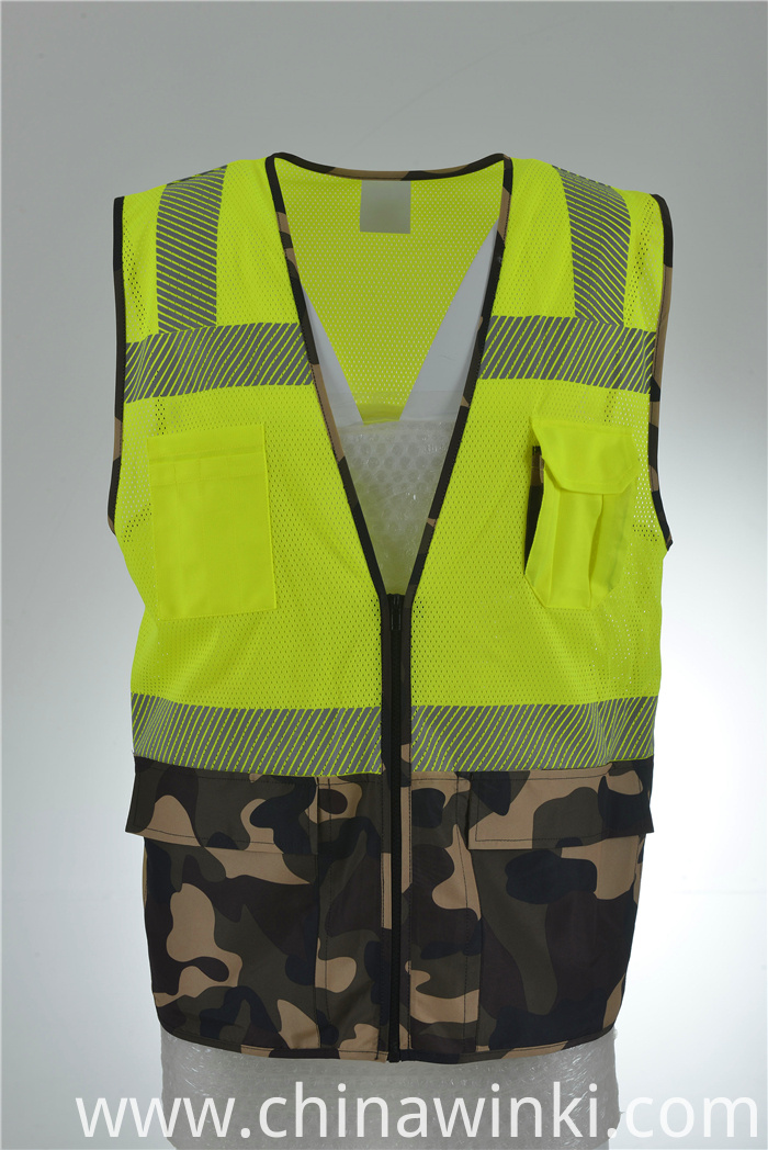 two tones safety vest