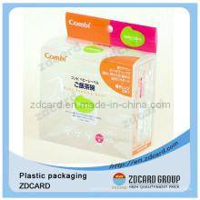 Boîte d'emballage de tube de sacs en plastique sûrs de nourriture